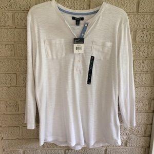 Chaps Henley Shirt NWT